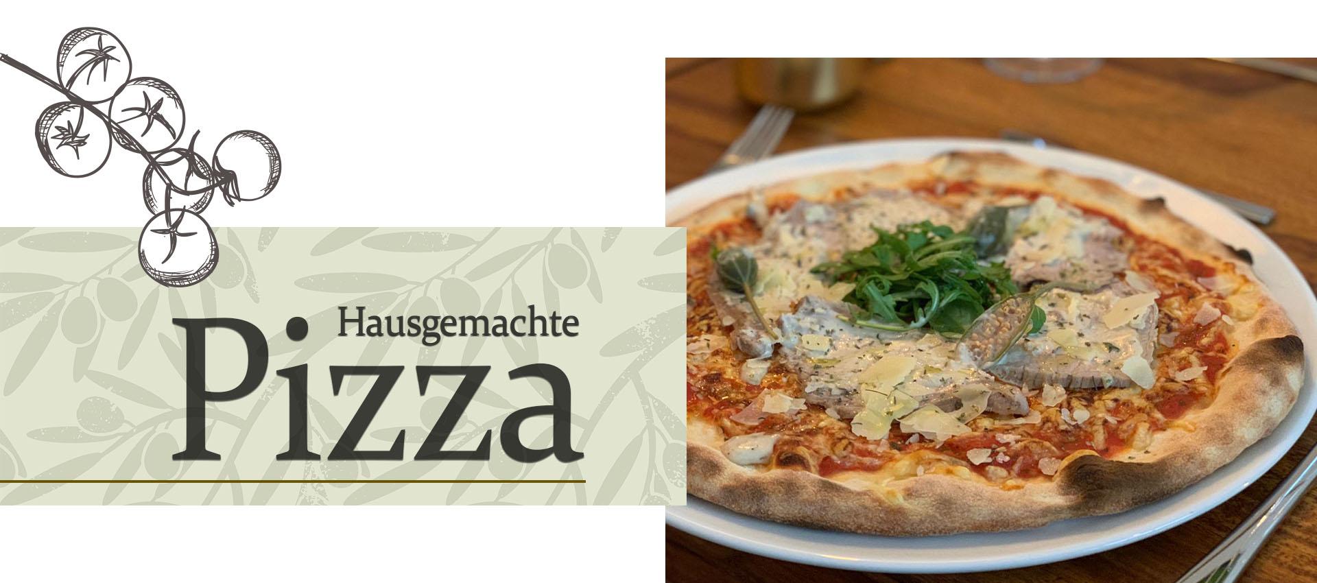 Hausgemachte Pizza im Landkreis Ravensburg. The best pizza in town