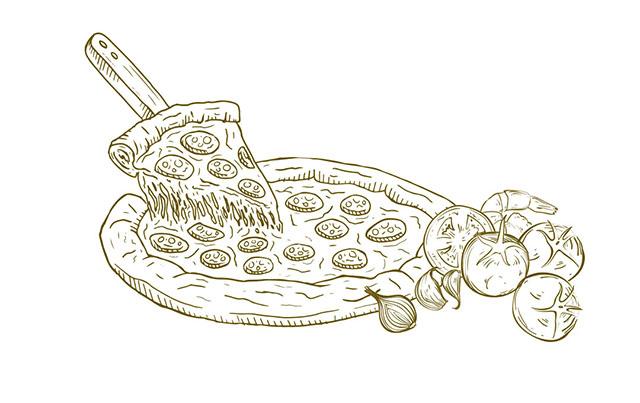 Unsere Pizza belegen wir immer mit den besten Zutaten, frischen Tomaten und Käse. So gibt es den Pizzagenuss pur in Wangen