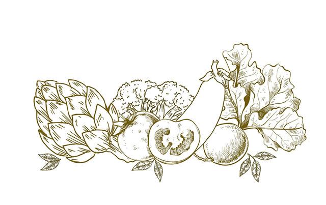 Vegetarische Küche in Wangen - frisches Gemüse aus der Region