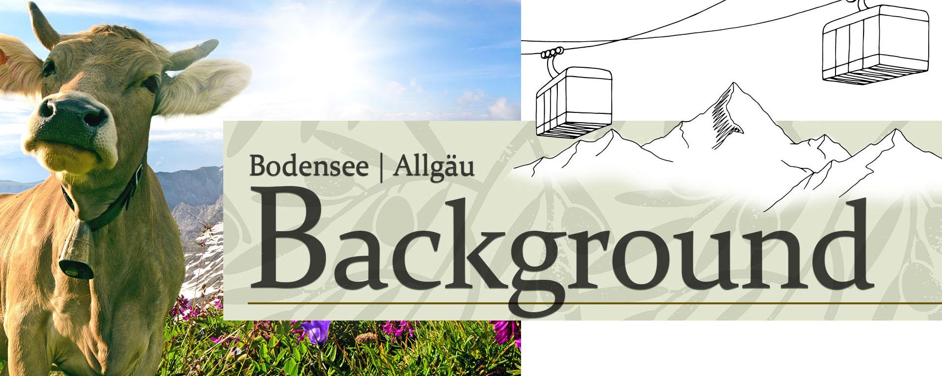 In unsere Alten Kanzlei beziehen wir unsere Produkte aus der Region des Bodensees und Allgäus.